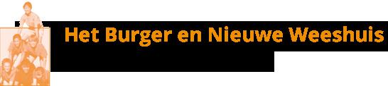 Burger en Nieuwe Weeshuis Arnhem